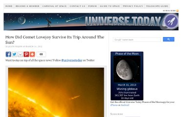 http://www.universetoday.com/94115/how-did-comet-lovejoy-survive-its-trip-around-the-sun/