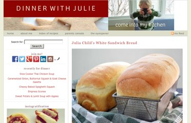 http://dinnerwithjulie.com/2012/03/04/julia-childs-white-sandwich-bread/