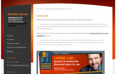 http://www.geoffroigaron.com/ressources-thematiques/living-lab/
