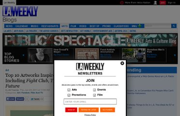 http://blogs.laweekly.com/arts/2011/06/crazy_4_cult_art_show.php