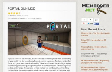 http://www.mods-for-minecraft.com/portal-gun
