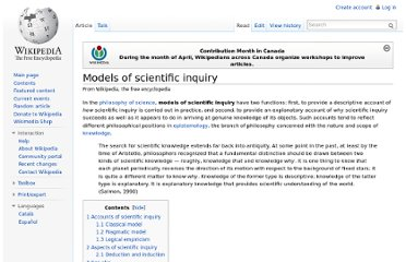 http://en.wikipedia.org/wiki/Models_of_scientific_inquiry