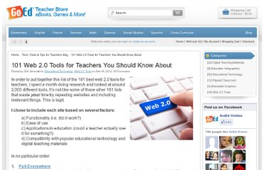http://www.goedonline.com/101-web-tools-for-teachers