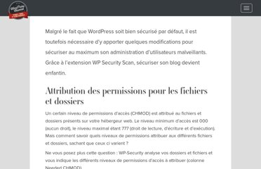 http://wpchannel.com/securiser-votre-blog-wordpress-avec-le-plugin-wp-security/