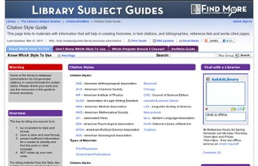 http://subjectguides.library.american.edu/citation