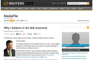 http://blogs.reuters.com/mediafile/2009/08/04/why-i-believe-in-the-link-economy/