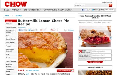 http://www.chow.com/recipes/30199-buttermilk-lemon-chess-pie