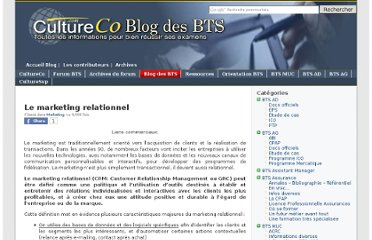 http://forum.cultureco.com/leblog/285/le-marketing-relationnel/