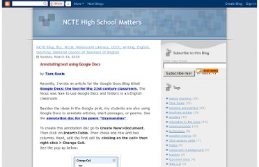 http://nctesecondary.blogspot.com/2010/03/annotating-text-using-google-docs.html