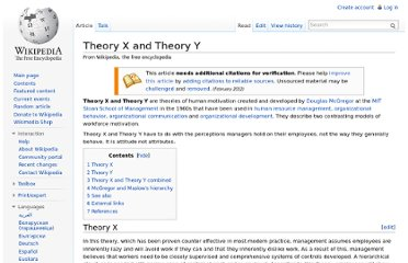 http://en.wikipedia.org/wiki/Theory_X_and_Theory_Y