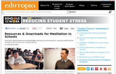 http://www.edutopia.org/stw-student-stress-meditation-resources-downloads