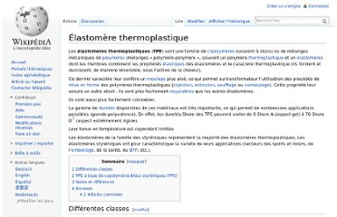 http://fr.wikipedia.org/wiki/%C3%89lastom%C3%A8re_thermoplastique