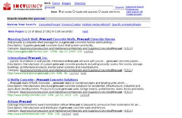 http://www.incywincy.com/search-engine/web/web?q=precast&rf=1