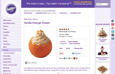 http://www.wilton.com/recipe/Vanilla-Orange-Cream
