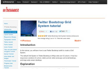 http://www.w3resource.com/twitter-bootstrap/grid-system-tutorial.php