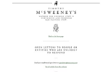 http://www.mcsweeneys.net/articles/an-open-letter-to-the-man-who-accosted-me-in-an-attempt-to-sell-me-a-power-balance-bracelet-in-the-mall