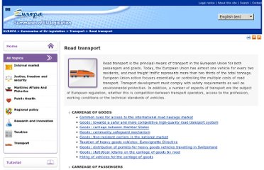 http://europa.eu/legislation_summaries/transport/road_transport/index_en.htm