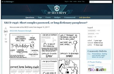 http://security.stackexchange.com/questions/6095/xkcd-936-short-complex-password-or-long-dictionary-passphrase