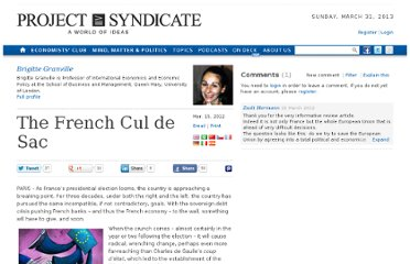 http://www.project-syndicate.org/commentary/the-french-cul-de-sac