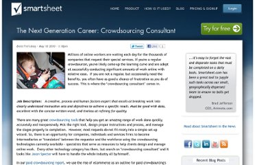 http://www.smartsheet.com/blog/brent-frei/next-generation-career-crowdsourcing-consultant