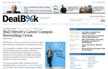 http://dealbook.nytimes.com/2012/03/15/wall-streets-latest-recruiting-crisis-on-campuses/