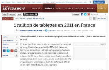 http://www.lefigaro.fr/conjoncture/2011/01/26/04016-20110126ARTFIG00583-1-million-de-tablettes-en-2011-en-france.php