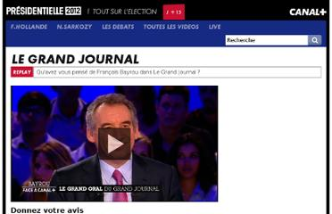 http://presidentielle2012.canalplus.fr/live/le_grand_journal_3