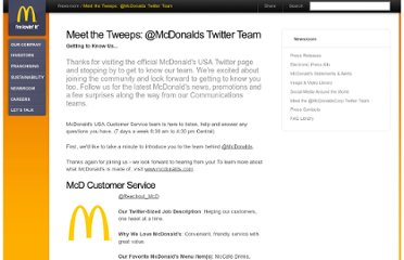http://www.aboutmcdonalds.com/mcd/newsroom/meet_the_tweeps_mcdonalds_twitter_team.html