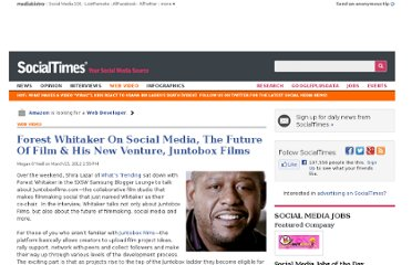 http://socialtimes.com/forest-whitaker-juntobox_b91679