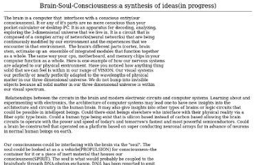 http://www.west.net/~simon/brain-soul-consciousness.html