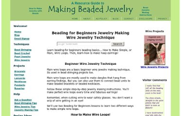 http://www.making-beaded-jewelry.com/beading-for-beginners-4.html