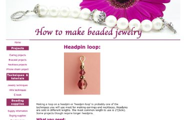 http://www.how-to-make-beaded-jewelry.com/headpin-loop.html