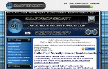 http://www.ait-pro.com/aitpro-blog/297/bulletproof-security-plugin-support/bulletproof-security-wordpress-plugin-support/
