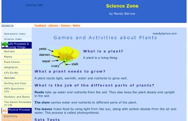 http://www.woodlands-junior.kent.sch.uk/revision/Science/living/plants.html