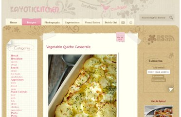 http://www.kayotic.nl/blog/vegetable-quiche-casserole