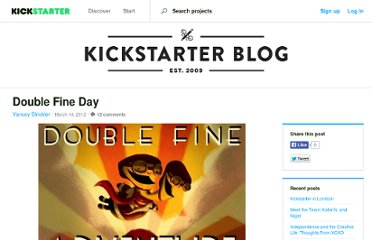 http://www.kickstarter.com/blog/double-fine-day