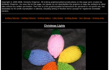 http://kimberlychapman.com/crafts/knit-patterns-christmaslights.html