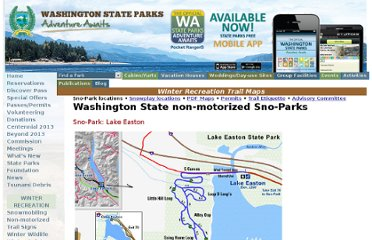 http://www.parks.wa.gov/winter/trails/?TrailType=nonmotorized&Region=3&Park=15