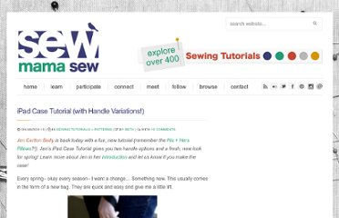 http://sewmamasew.com/blog2/2012/03/ipad-case-tutorial-with-handle-variations/