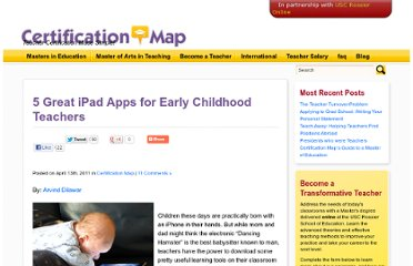 http://certificationmap.com/5-great-ipad-apps-for-early-childhood-teachers/