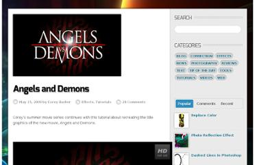 http://planetphotoshop.com/angels-and-demons.html