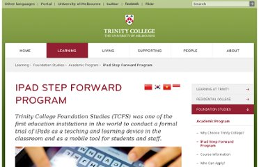 http://www.trinity.unimelb.edu.au/learning/foundation-studies/academic-program/ipad-step-forward-program.html
