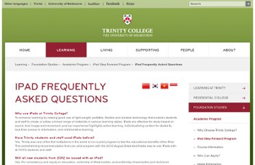 http://www.trinity.unimelb.edu.au/learning/foundation-studies/academic-program/ipad-step-forward-program/ipad-faq.html