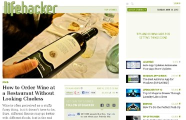 http://lifehacker.com/5893850/how-to-order-wine-at-a-restaurant-without-looking-clueless