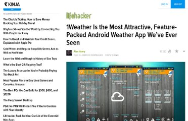 http://lifehacker.com/5893852/1weather-is-the-most-attractive-feature+packed-android-weather-app-weve-ever-seen