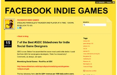 http://fbindie.posterous.com/7-of-the-best-gdc-slideshows-for-indie-social