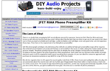 http://diyaudioprojects.com/Solid/JFET-Phono-Preamplifier-Kit/