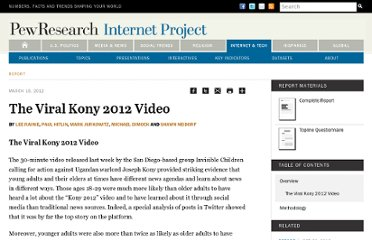 http://pewinternet.org/Reports/2012/Kony-2012-Video/Main-report.aspx