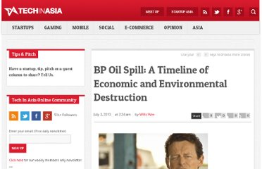 http://www.techinasia.com/bp-oil-spill-a-timeline-of-economic-and-environmental-destruction/