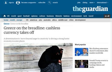 http://www.guardian.co.uk/world/2012/mar/16/greece-on-breadline-cashless-currency